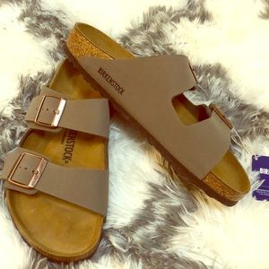 Birkenstock size 41 (11) stone new with tags!